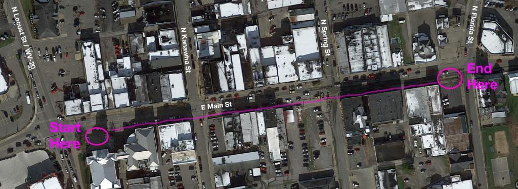 Main Street Map