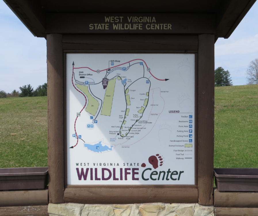 West Virginia State Wildlife Center by Vickie Mendenhall
